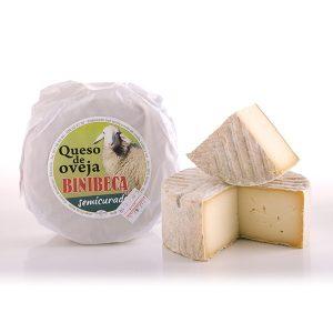 Queso Menorca de Oveja Binibeca