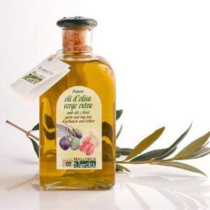 Aceite de Oliva con Ajo y Laurel