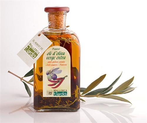 Aceite de Oliva con Pimientos Picantes