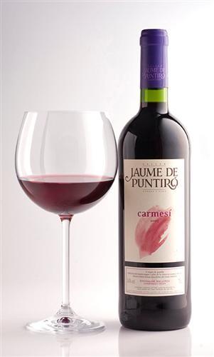 Vino Tinto Carmesí de Jaume de Puntiró